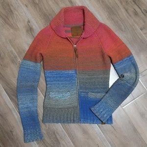 RARE TNA Sea to sky wool zip up